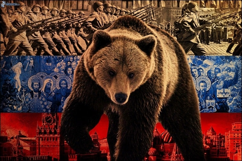 biểu tượng gấu nga