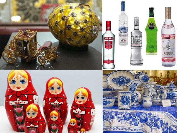 Đi du lịch Nga nên mua gì làm quà ?