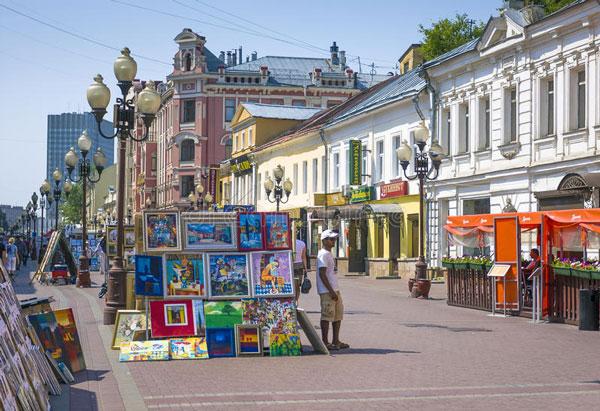 Du lịch Moscow – Lắng mình trên phố cổ Arbat