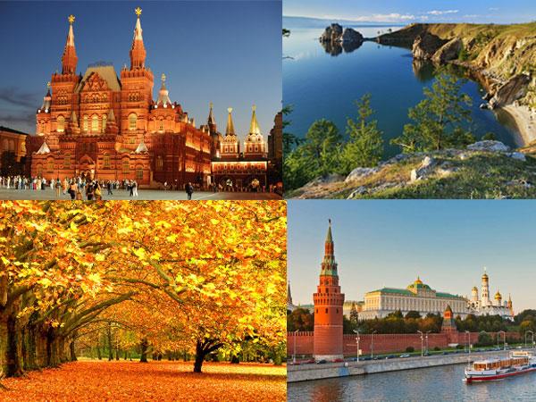 Những điểm đến không thể bỏ qua khi du lịch Nga tháng 10