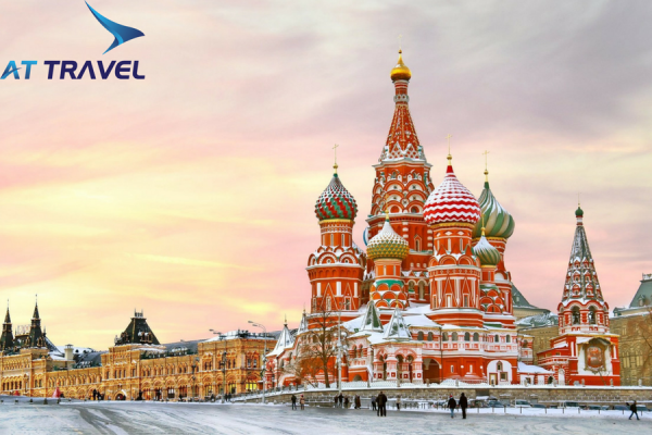 Tour du lịch nước Nga chiêm ngưỡng 2 nhà thờ nổi tiếng nhất