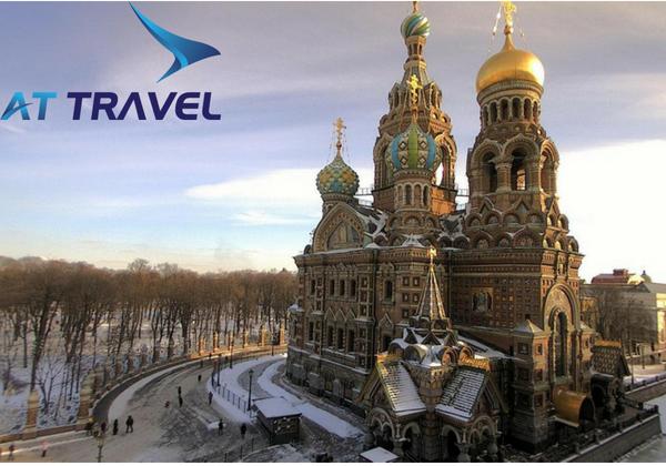 Du lịch nước Nga ngắm chiêm ngưỡng nhà thờ Chúa cứu thế