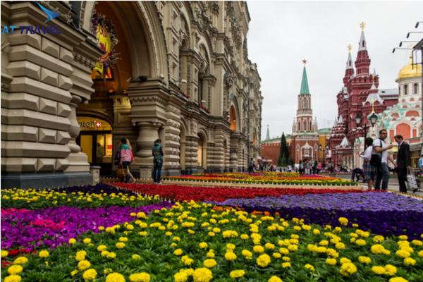 Thời tiết tháng 4 ở Nga có thích hợp để đi du lịch không?