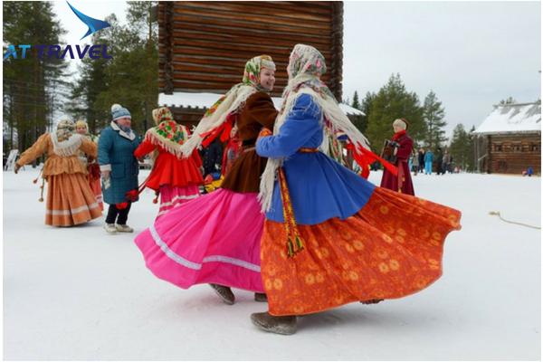 Các tour du lịch Nga mùa lễ hội