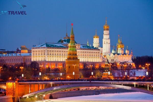 Kinh nghiệm du lịch moscow thủ đô hoa lệ ở Nga