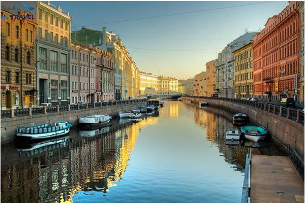 Khám phá tour du lịch Nga hè 2018 tràn ngập màu sắc