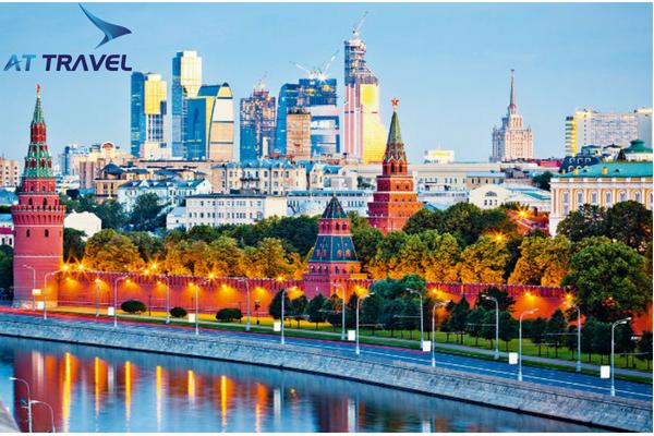 Du lịch Moscow Nga hòa mình vào thành phố sôi động