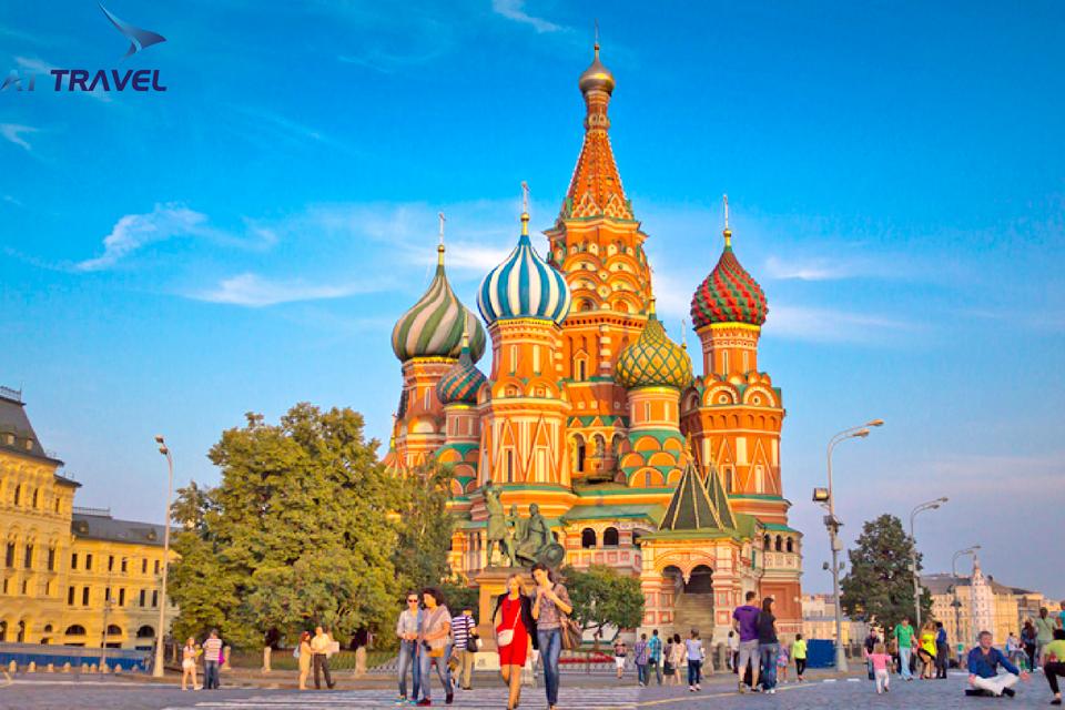 Du lịch Nga, đến với xứ sở bạch dương khi sang thu