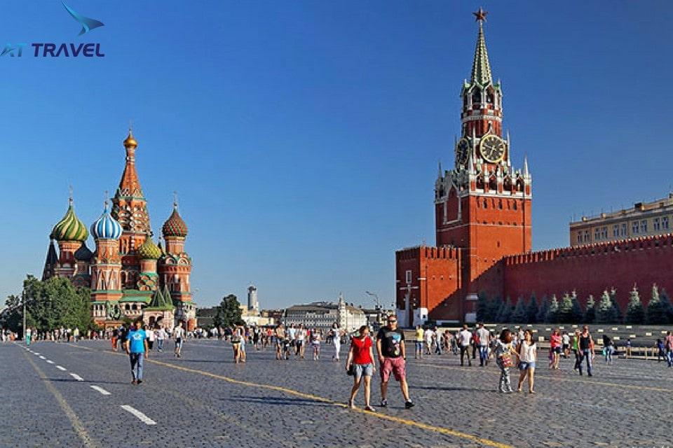 Quảng Trường Đỏ, điểm đến không thể bỏ qua trong tour đi Nga