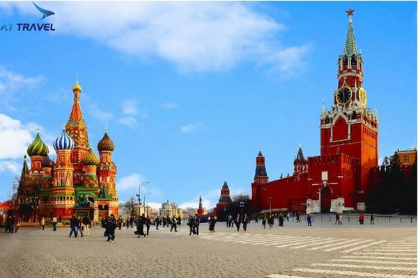 Tour du lịch Nga giá rẻ