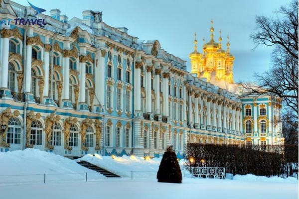Cung điện Mùa đông – điểm đến hấp dẫn trong chuyến du lịch Nga