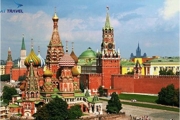 Tour du lịch Nga 9 ngày 8 đêm đang hot nhất thị trường