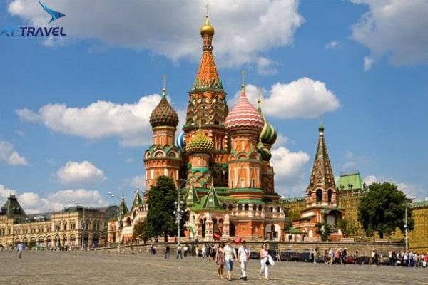 Top 10 việc bạn phải thực hiện khi đi du lịch Moscow