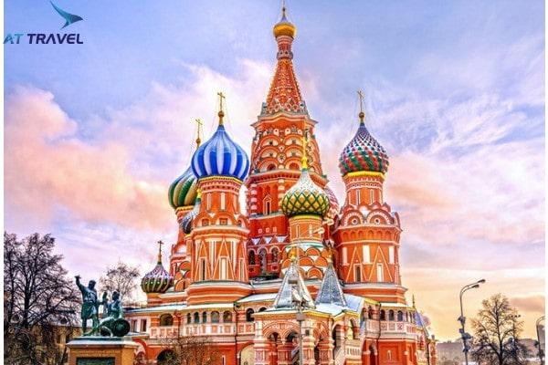Khi đi du lịch nước Nga hãy đến những nhà thờ này