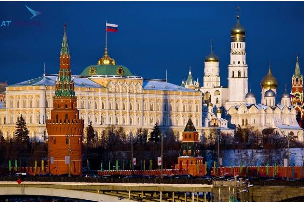 Du lịch Matxcova ngắm thủ đô xinh đẹp