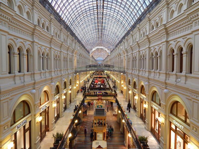 GUM – Trung tâm thương mại nổi tiếng nhất nước Nga