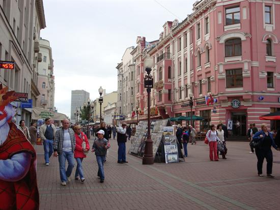 Du lịch Moscow chiêm ngưỡng phố cổ Arbat