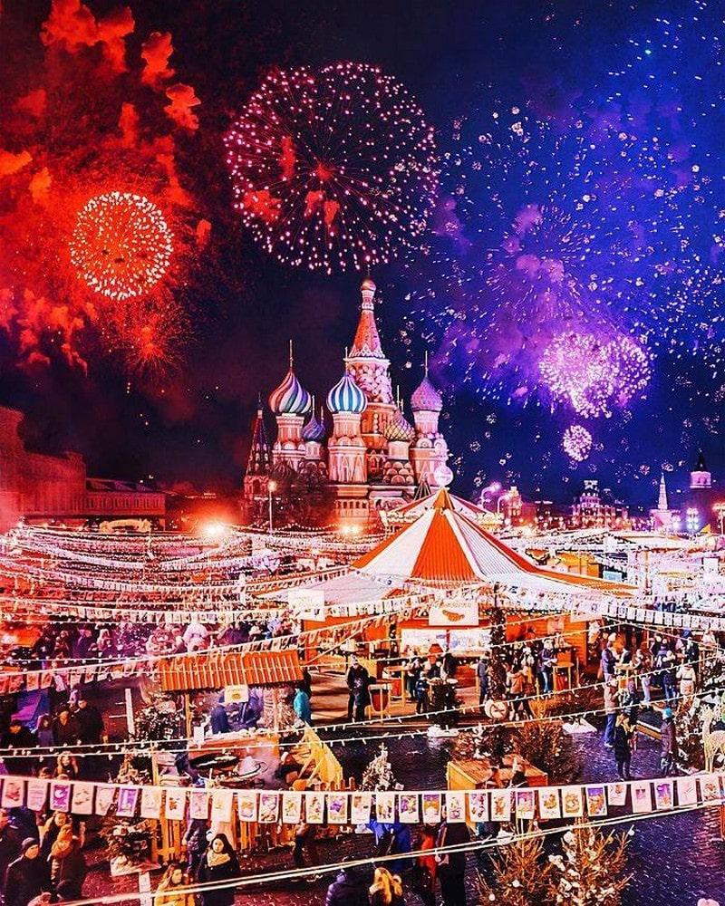 Du lịch Nga tháng 1 1