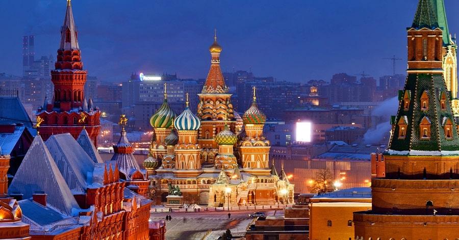 Chi phí làm visa du lịch Nga 1
