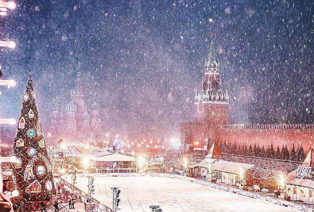 Du lịch Nga tháng 2 tận hưởng mùa đông tuyết trắng đẹp tuyệt vời ở Nga!