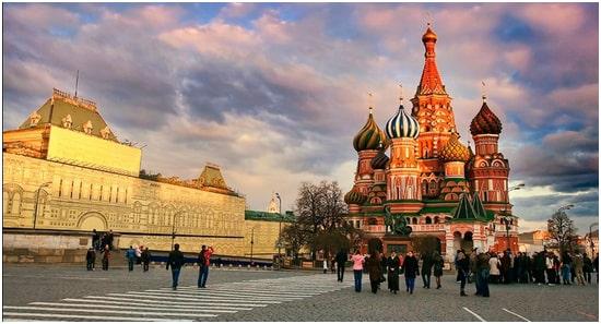 du lịch Nga tháng 5-1