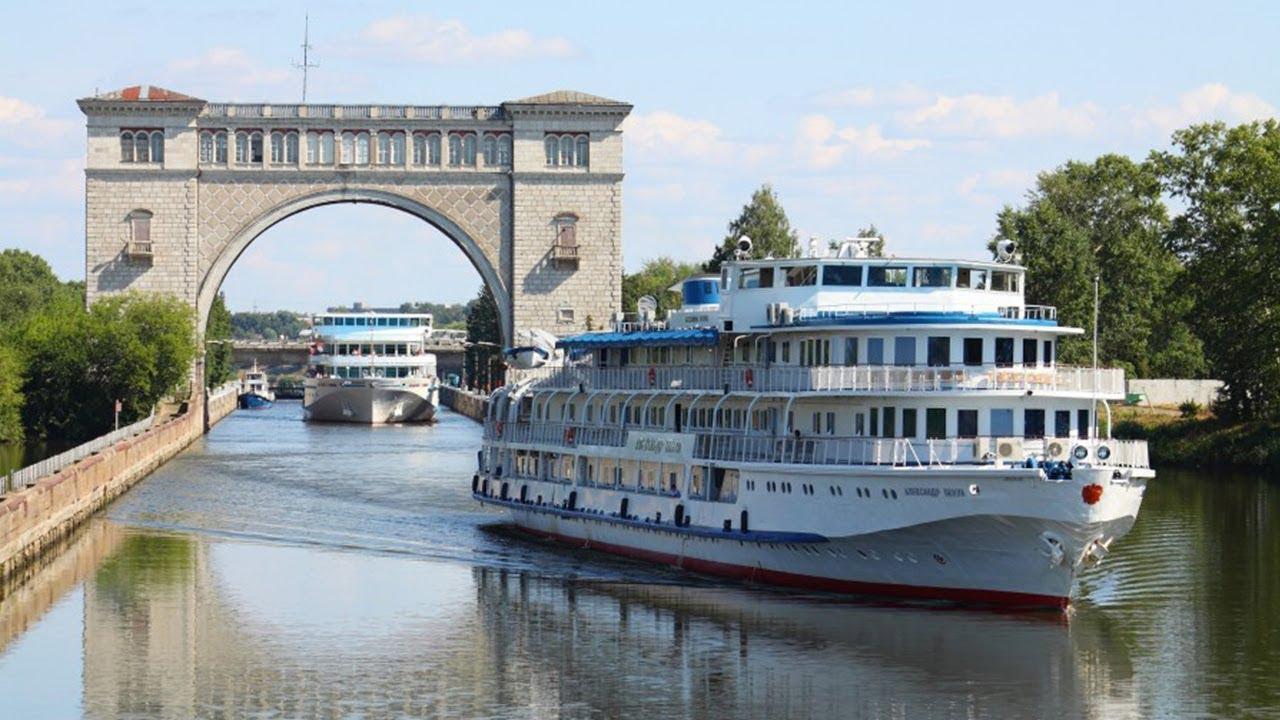 hành trình sông Volga