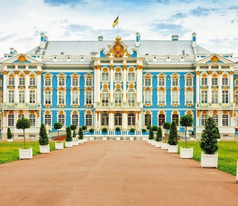 Chiêm ngưỡng cung điện mùa thu Ekaterina lộng lẫy nước Nga