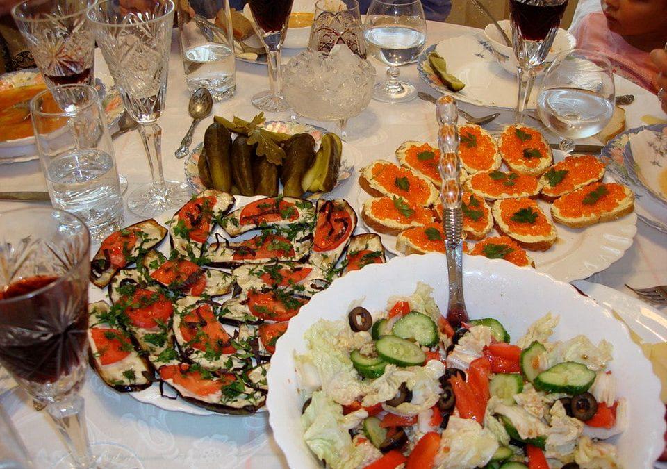 Văn hóa ẩm thực của người Nga như thế nào?