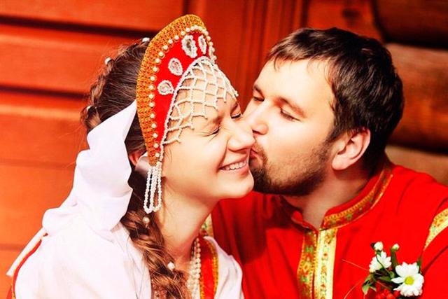 lễ cưới truyền thống Nga