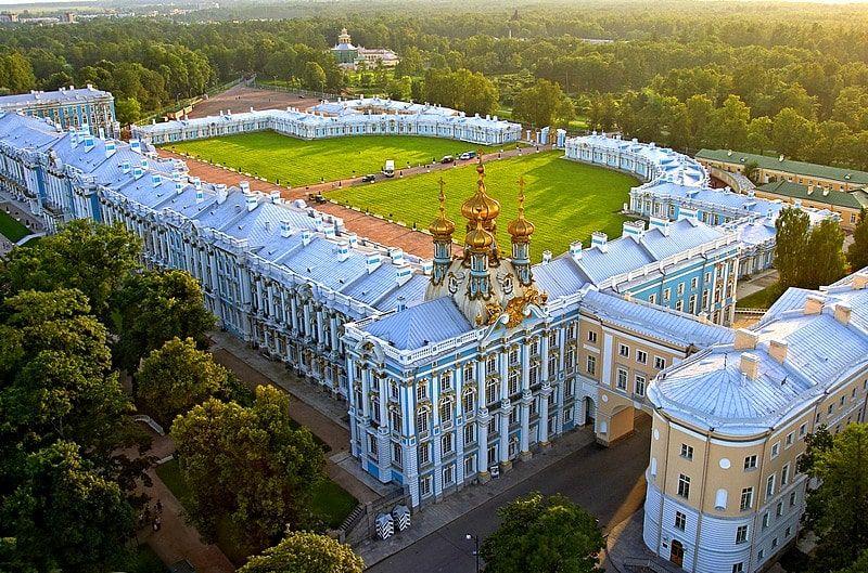 Thăm quan Pushkin, ngôi làng tuyệt đẹp của các vị hoàng đế