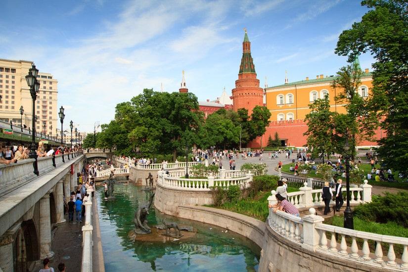 vườn Alexandrovsky 1