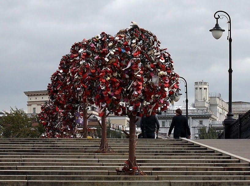 cây tình yêu moscow