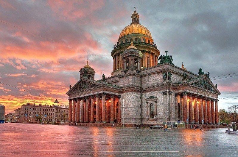 Đến Saint Petersburg phải ghé thăm nhà thờ thánh Issac