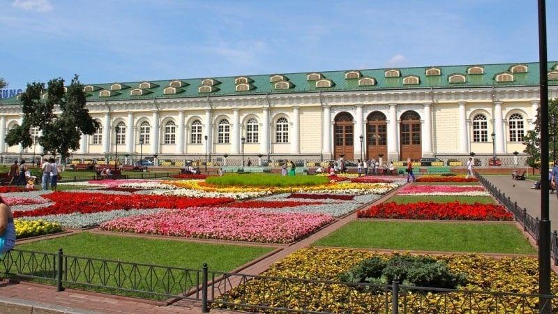 Ngây ngất trước vẻ đẹp của vườn Alexandrovsky nước Nga