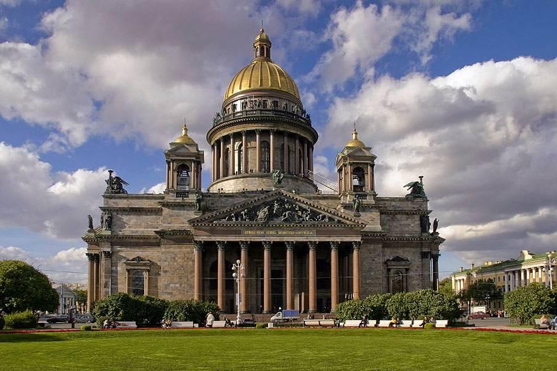 Tour đi Nga hấp dẫn hơn khi khám phá nhà thờ thánh Issac