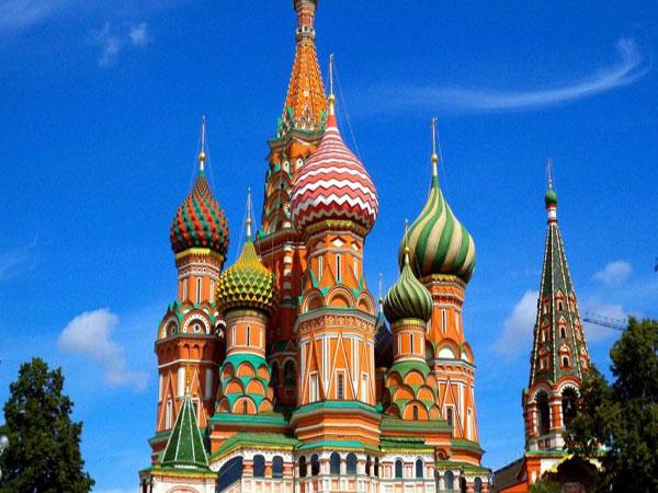NHÀ THỜ THÁNH BASIL – MOSCOW