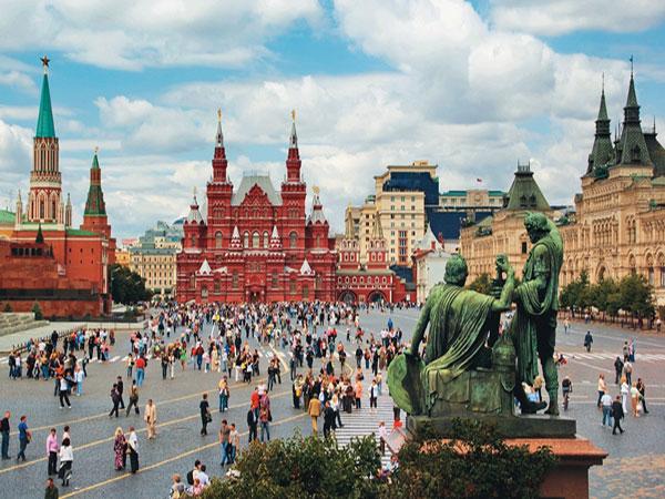 QUẢNG TRƯỜNG ĐỎ – MOSCOW